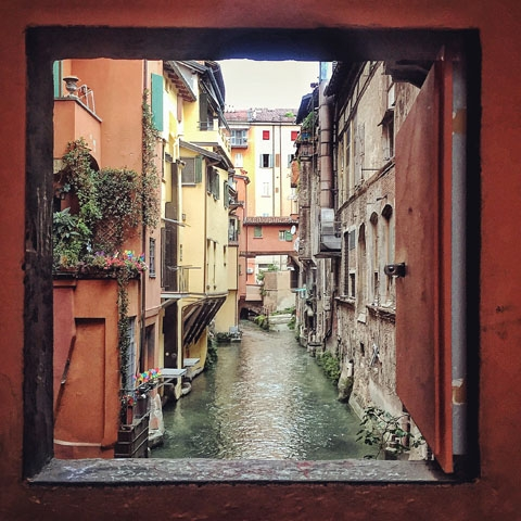 Little Venice in Bologna Via Piella