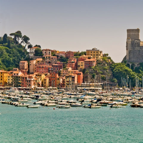 Lerici from the Sea