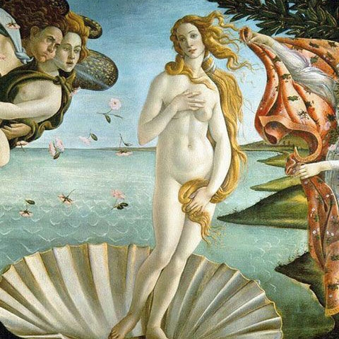 Venus by Botticelli Uffizi Gallery