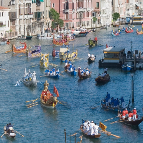 Historic Regatta Grand Canal