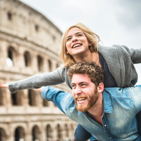 Colosseum Couple
