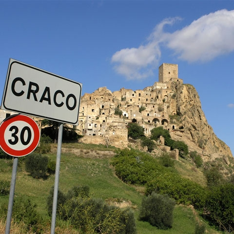 View of Craco