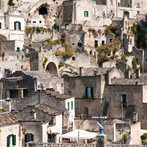 Roofs of Matera
