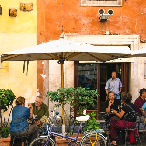 Restaurant in Trastevere