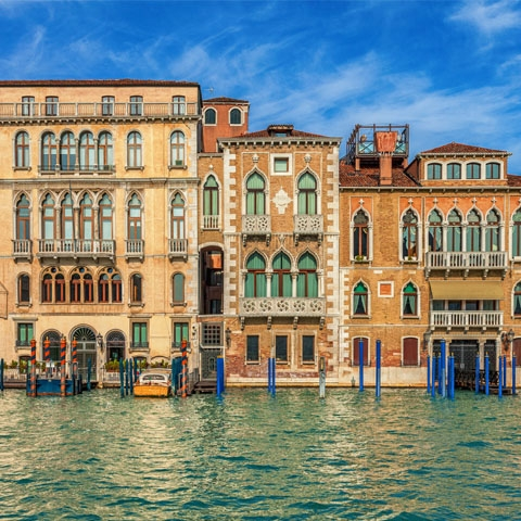 Palaces on the Grand Canal