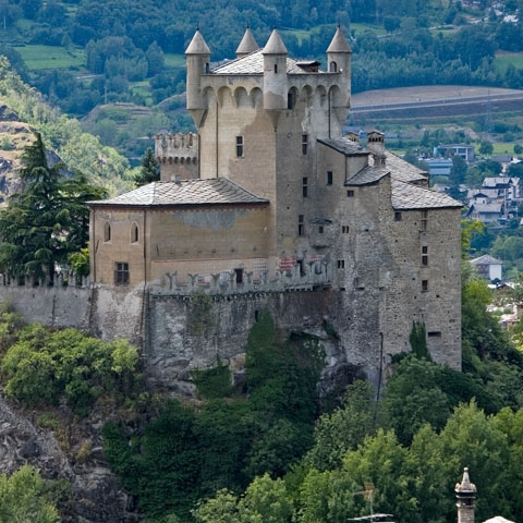 Castle St. Pierre Aosta Valley
