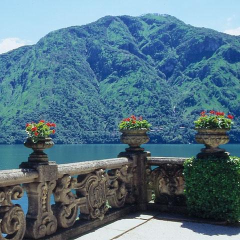 Belvedere of Sighignola Lanzo Intelvi lake Como