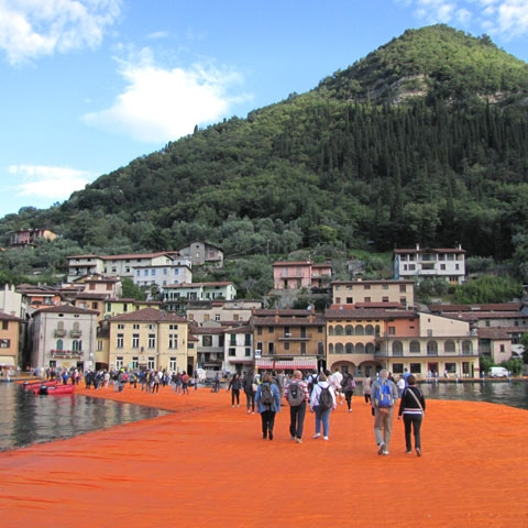 Lake Iseo Floating Piers Christo