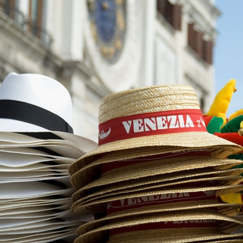 Souvenir Hats in Venice