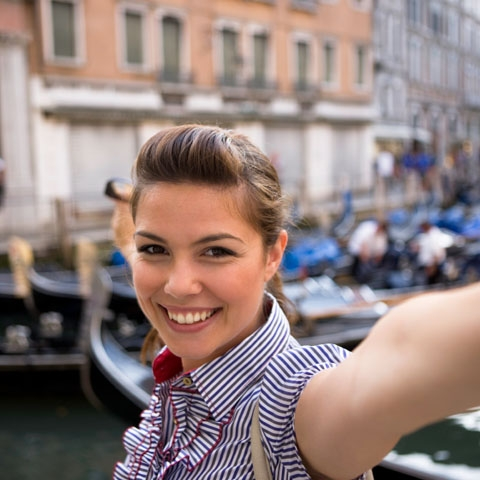 Taking Photos in Venice