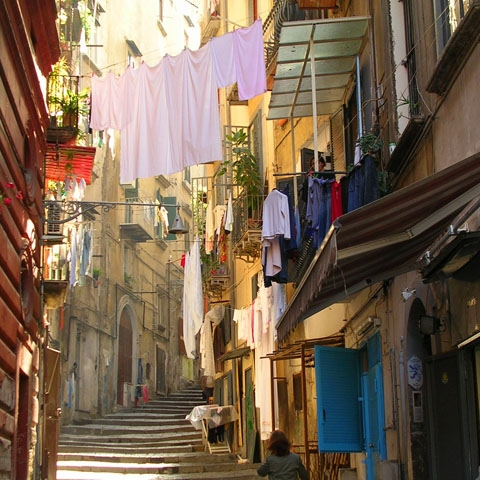 Alleyways in Naples