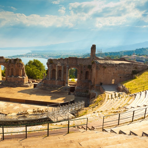Greek Amphitheater Taormina