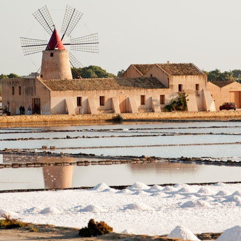 Trapani Salt Pools