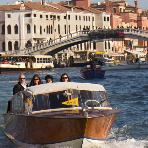 Navigating the Canal Grande