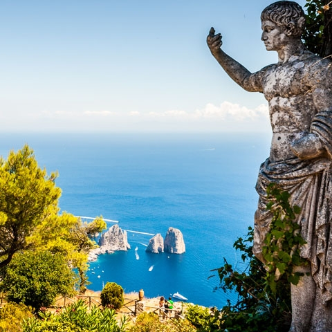 Panoramic View of Capri