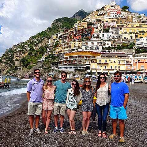 Positano Amalfi Coast Group Trip