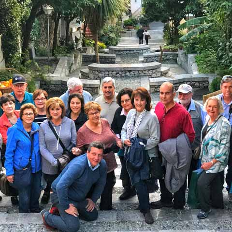 Taormina Sicily Heritage Group Travel