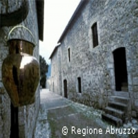 Abruzzo Italy mountain village