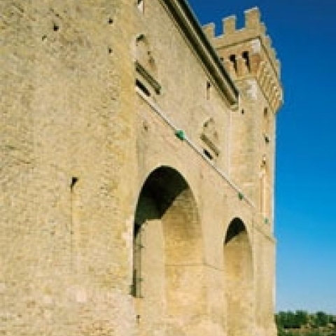 Abruzzo Italy tower castle