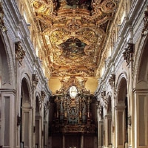 L'Aquila Abruzzo Church decorations
