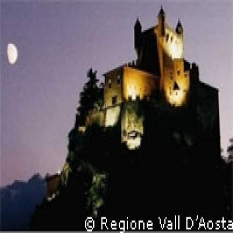 Aosta Valley Italy Saint Pierre Castle