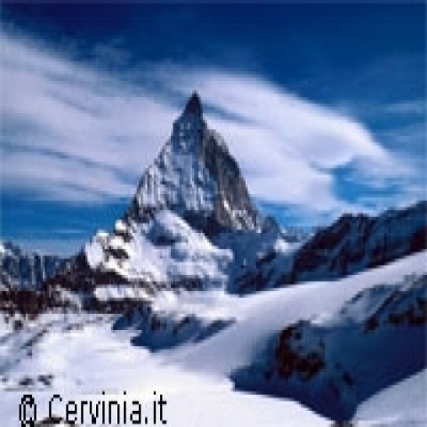 Aosta Valley Italy Cervino peak