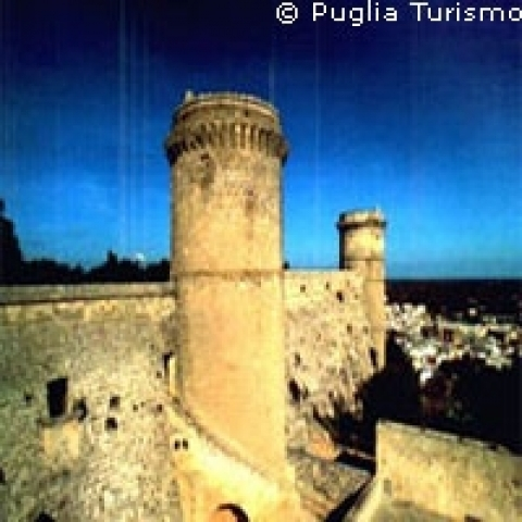 Brindisi Italy castle