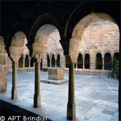 San Benedetto Cloister Brindisi Italy