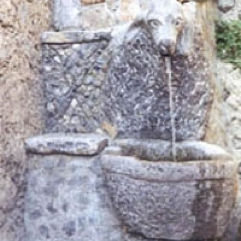 Basilicata Italy fountain