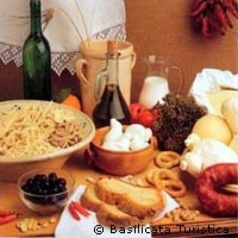 Basilicata Italy typical food