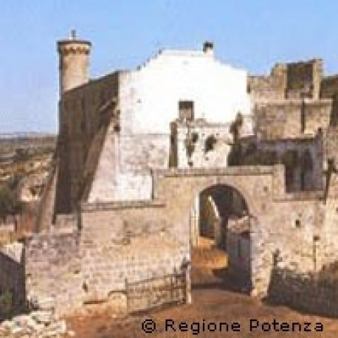 Matera old gate Italy