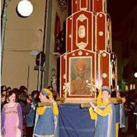 Historic procession Potenza Italy