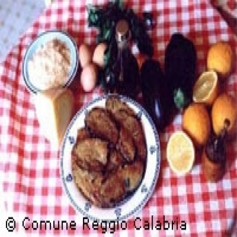 Fresh food of Reggio Calabria Italy