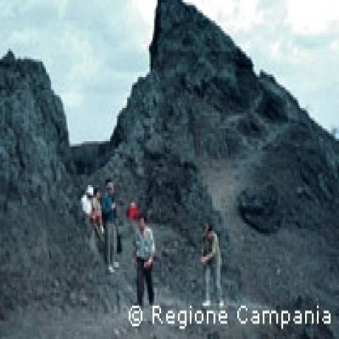 HIking Vesuvius Naples Italy