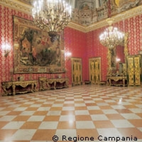 Capodimonte Royal Palace room Naples Italy