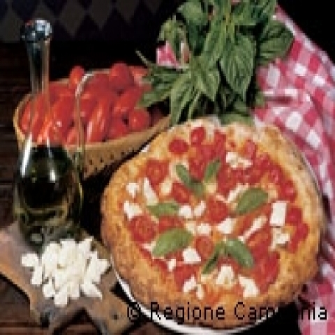 Pizza Margherita Naples Italy