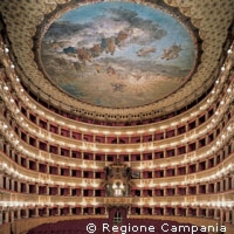 San Carlo theater Naples Italy