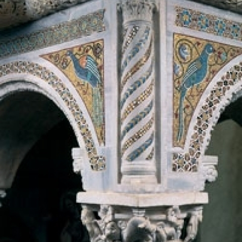 Detail Ravello Cathedral Amalfi Coast Italy