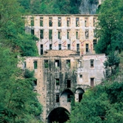 Ancient paper mill Amalfi Coast Italy