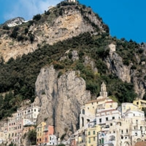 Glimpse on Amalfi Coast Italy