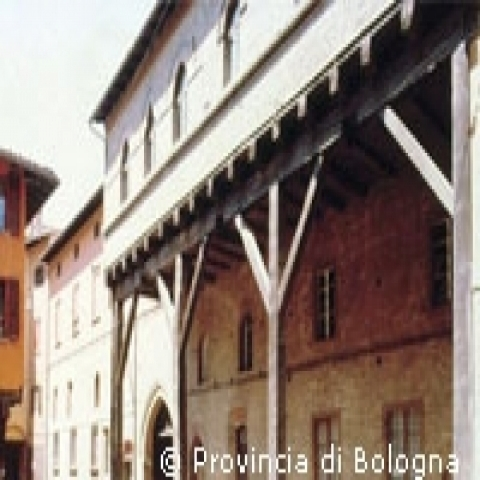 Typical Architecture Bologna Italy