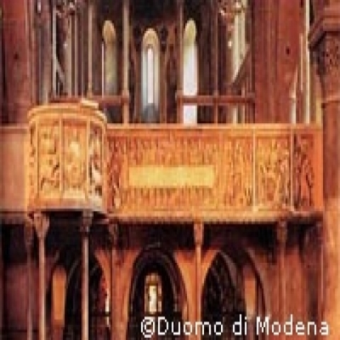 Modena Cathedral interior Italy