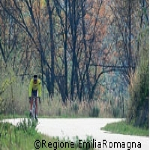 Road Bike trails in Parma Italy