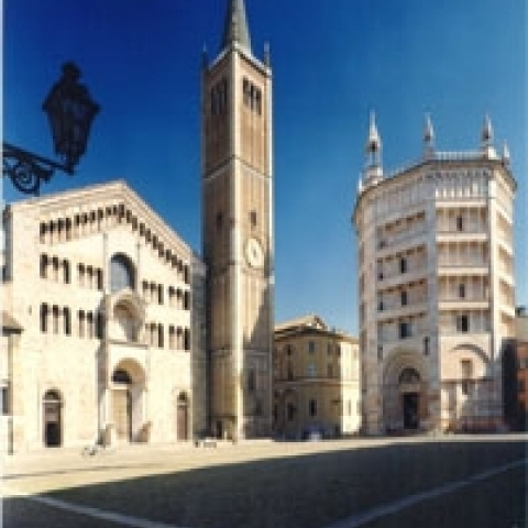 Cathedral Square Parma Italy