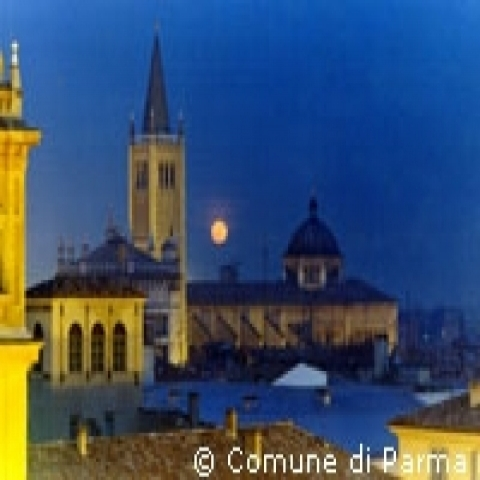 Parma by night Italy