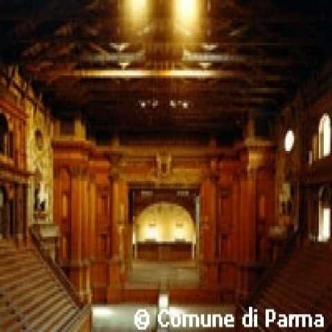 Farnese Theater in Parma Italy