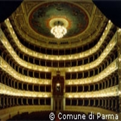 Regio Theater in Parma Italy
