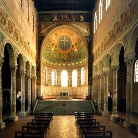 Apse of San Apollinare in Classe Ravenna Italy