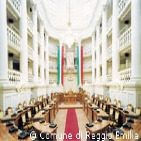 Reggio Emilia birthplace of Italian flag Italy