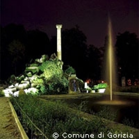 Remembrance Park in Gorizia Italy